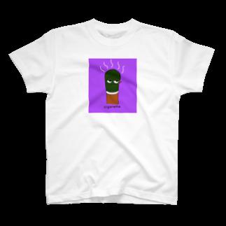 Taigerのシガレット君Tシャツ!!! T-shirts
