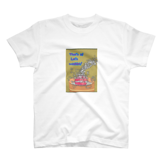 ohgenmanのThat's it! Let's washlet! T-shirts