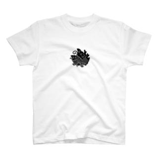 平家の家紋【揚羽】 T-shirts