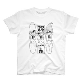 しぶ猫新撰組グッズ T-shirts