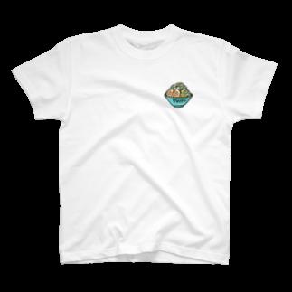 mapleCAのmeはジロリアンらーめんばーじょん T-shirts