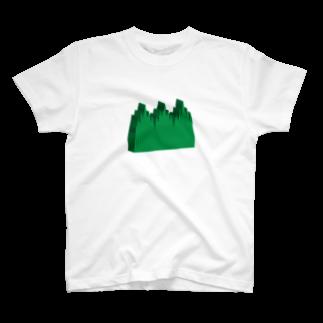 けこげろの分厚いバラン Tシャツ T-shirts