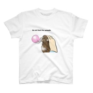 ねこ 風船ガム T-shirts