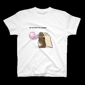 なつき やま Natsuki Yamaのねこ 風船ガム T-shirts