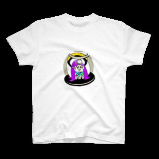 キャラ生み製造機のアマビエ様 T-shirts