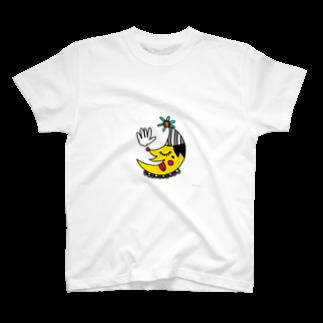 キャラ生み製造機の2. 『つき』 T-shirts