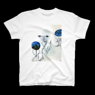 "aUne tache aveugleの""elevener""  ① T-shirts"