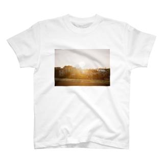 フィルム 夕焼け T-shirts