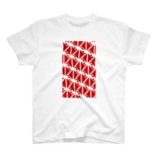 気ままに創作 よろず堂のサーヴィエ行進曲 紅 T-shirts