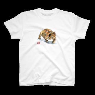 ふくのキジトラちゃん T-shirts