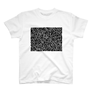 モノトーンのクマノミ柄 T-shirts