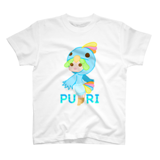 ウサネコのぷり☆インコちゃん T-shirts