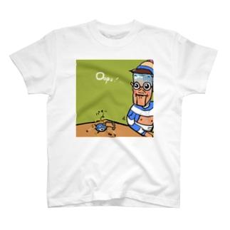 生まれながらの破壊神 T-shirts