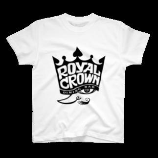 Shingo TashimaのROYAL CROWN 『KING』 T-shirts