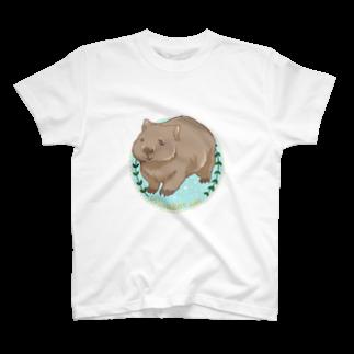 Lichtmuhleのウォンバット T-shirts