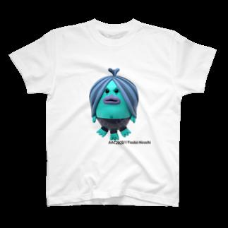 CYBERDYNEのあまびえアートチャレンジ@吉井宏 T-shirts