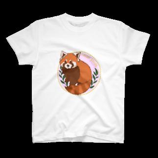Lichtmuhleのレッサーパンダ T-shirts