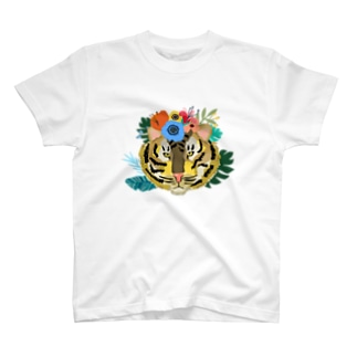 ワイルドだろ?草食系タイガー。 T-shirts