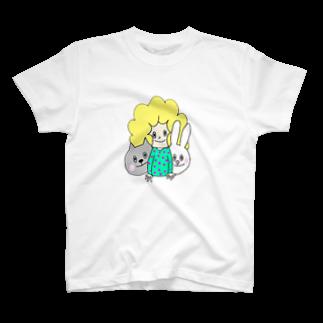 Margot.のなかよし T-shirts