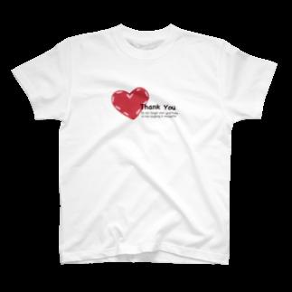 POPUP_KOBE_MARIKOの感謝を忘れない。 T-shirts