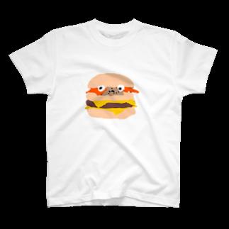まにちゅうわ🍔のまにちゅうわ君 T-shirts