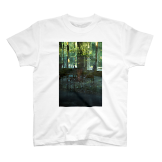 MOORのThrough Green T-shirts