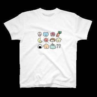 ぼぶこのぼぶこちゃんと仲間たち T-shirts