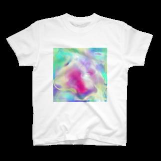 KIWA8RIのlove2 T-shirts