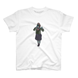 オカルト部の少女B T-shirts