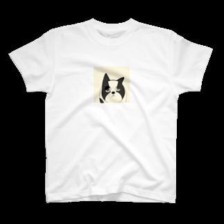 ZUSHIMARUのふれんちぶるどっぐ T-shirts