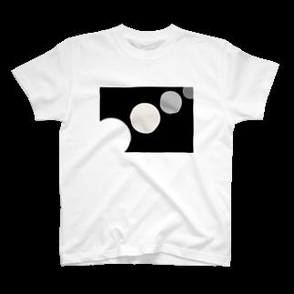 jaysan4646のMangetsu ha kireida  T-shirts