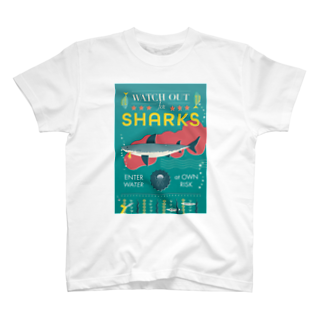cdh-designのWATCH OUT FOR SHARKS T-shirts
