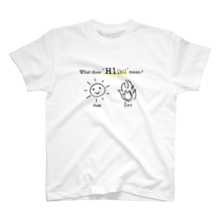MAROMAROの'ヒ'とは何ぞや。What dose 'HI' mean? T-shirts