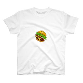 ハンバーガー・マイケル T-shirts