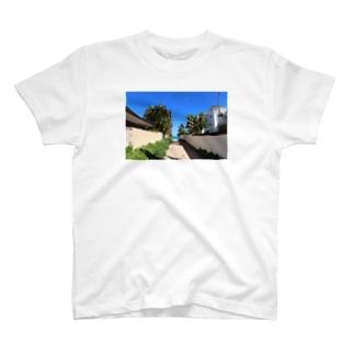 ROAD TO LANIKAI BEACH T-shirts