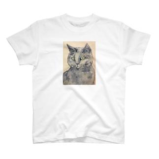 はいいろねこさん T-shirts