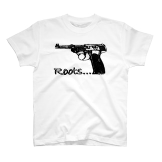 PISTOL LOGO T-shirts
