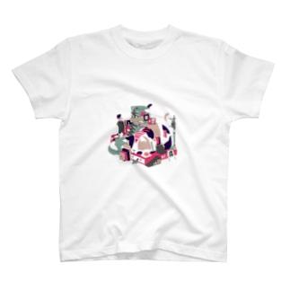 ぴっぱらのスリープモード T-shirts