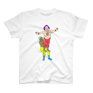 レスラーの組体操 第5試合。 T-shirts