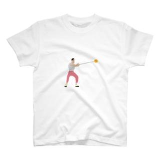 ハンマー投げ T-shirts