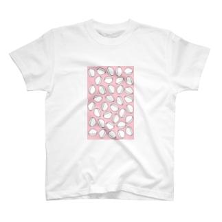 おでん・はんぺん(ピンク) T-shirts