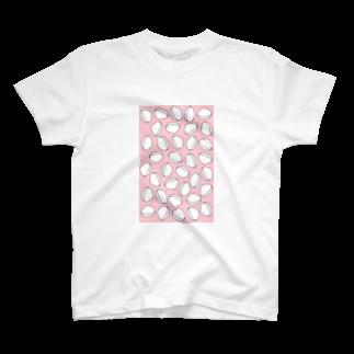 あまだいのおでん・はんぺん(ピンク) T-shirts