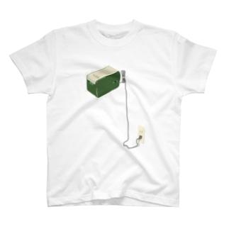 黒板消しクリーナー T-shirts