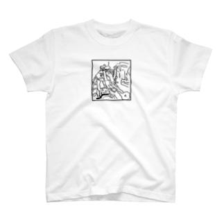 雪崩 -nadare- T-shirts