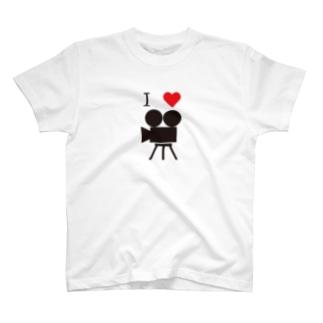 映画好き T-shirts
