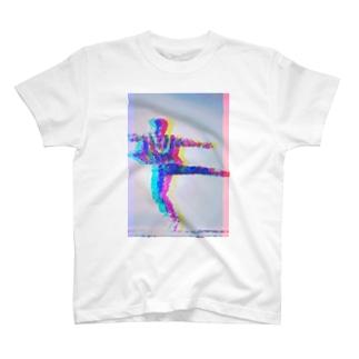 ダンスは止められない T-shirts