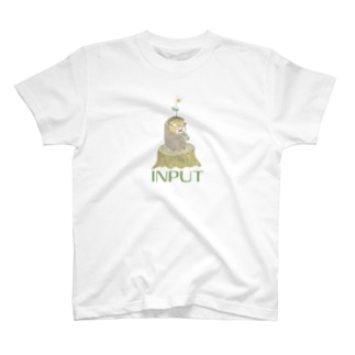 時のさえずり~人生、彩りみどり~の見るサル T-shirts