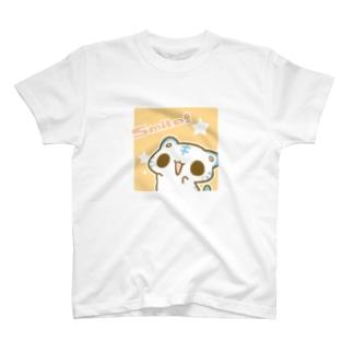すまいる●ω●きいろ T-shirts