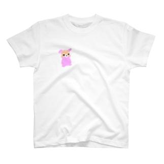 じいちゃんがうさぎの着ぐるみ着てみた T-shirts