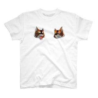 タスマニアタイガー(フクロオオカミ) T-shirts